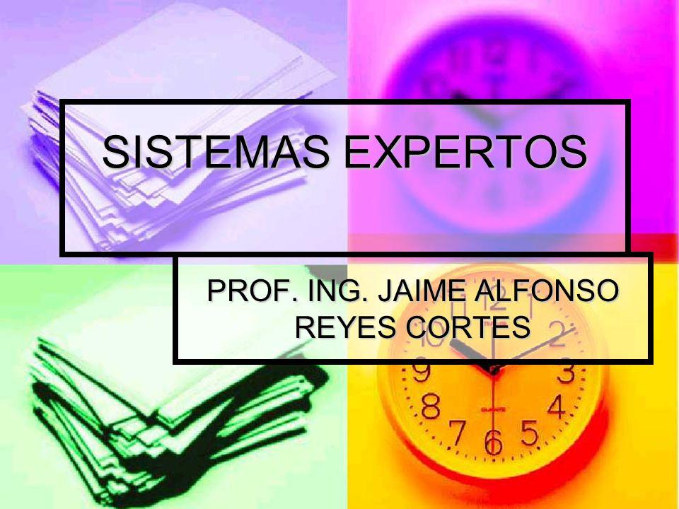 SISTEMAS EXPERTOS PROF. ING. JAIME ALFONSO REYES CORTES