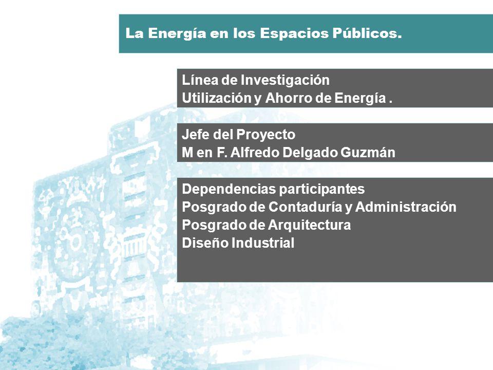 Línea de Investigación Utilización y Ahorro de Energía.