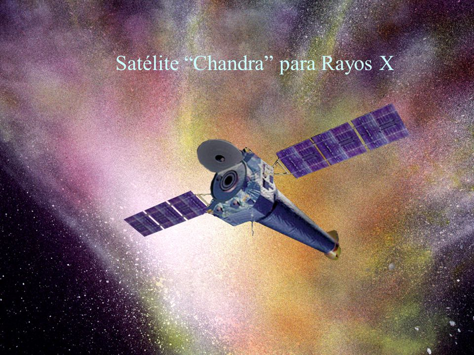 28 Satélite Chandra para Rayos X