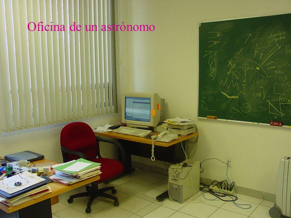 29 Oficina de un astrónomo
