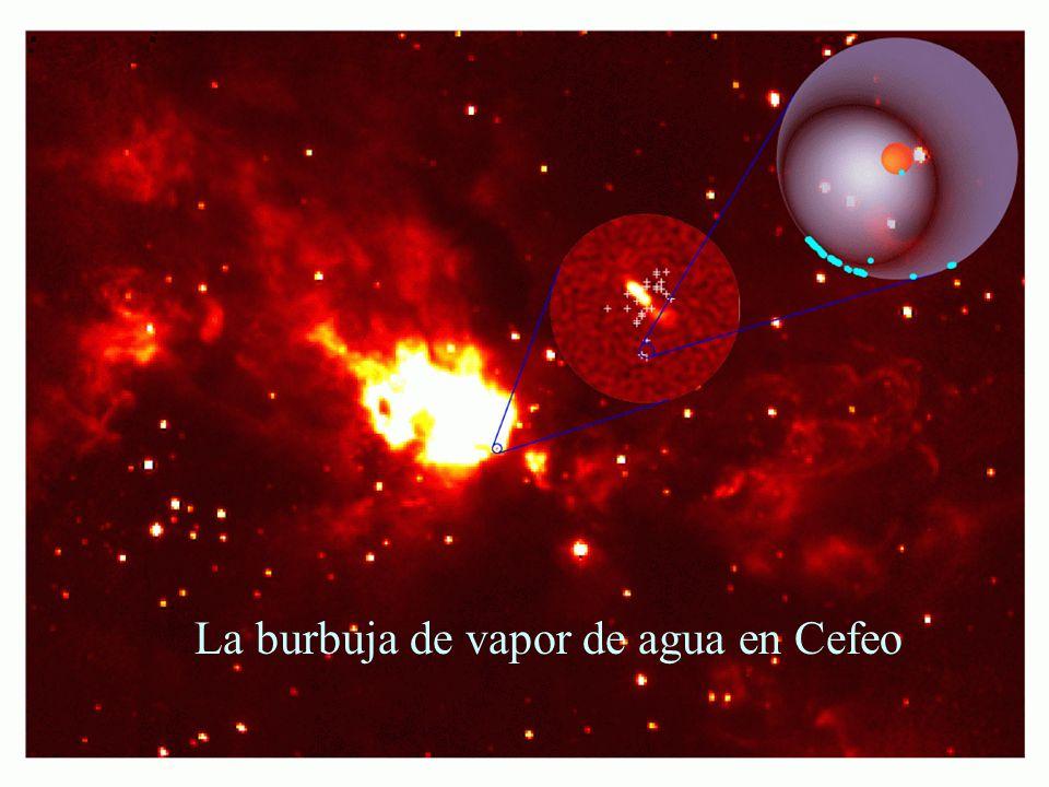 49 La burbuja de vapor de agua en Cefeo