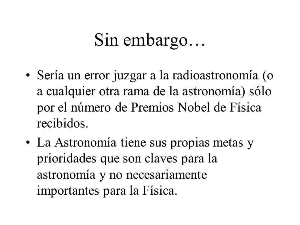 Un claro ejemplo de esto es el descubrimiento de Baade de dos tipos de poblaciones estelares Población I Población II Galaxia espiral ESO 510-13