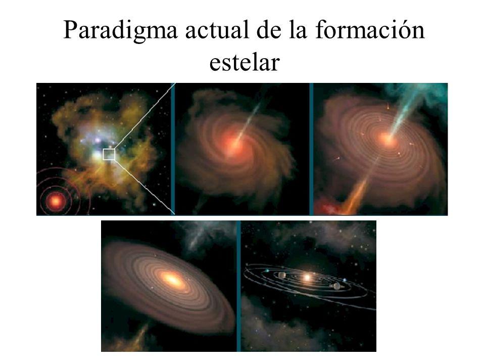 Emisión del polvo de un disco que formará planetas