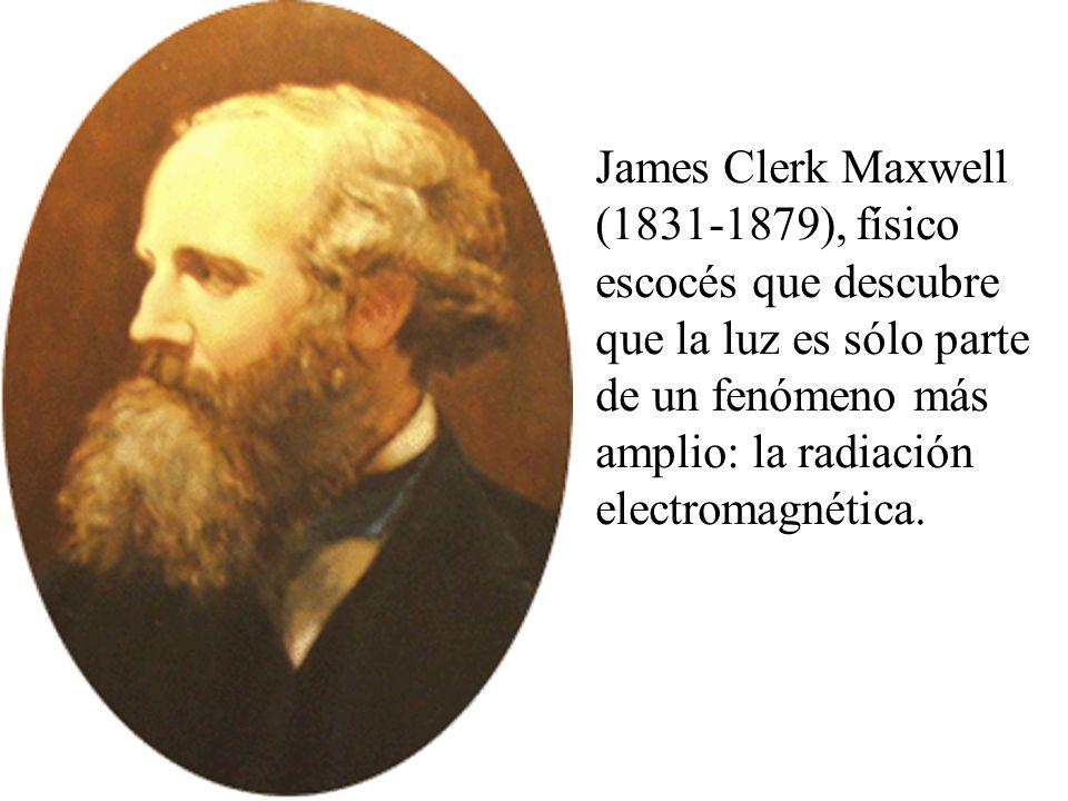 La radiación electromagnética está formada por ondas de una longitud característica