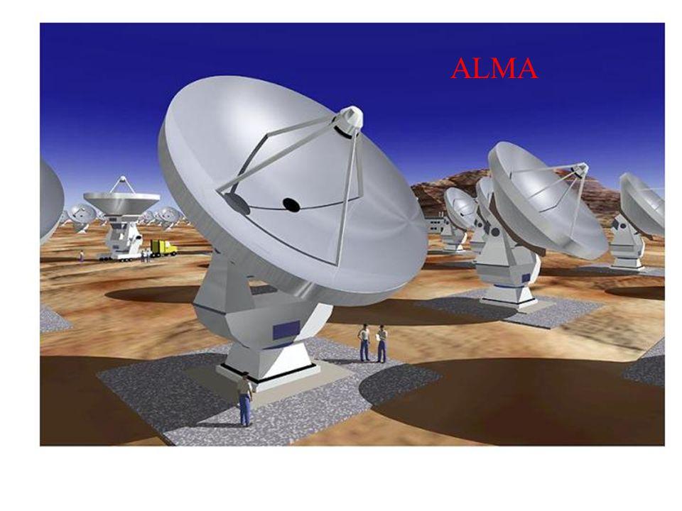 Atacama Large Millimeter Array Ubicado en Chajnantor, Chile en el desierto de Atacama a 5,000 metros de elevación.