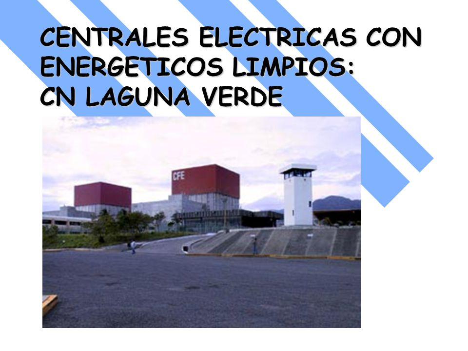 CENTRALES ELECTRICAS CON ENERGETICOS LIMPIOS: CN LAGUNA VERDE