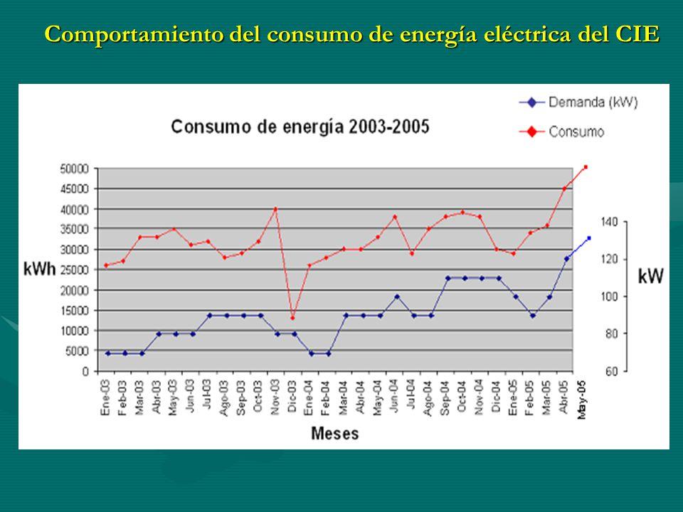 Cargos por energía y demanda 2003-2005
