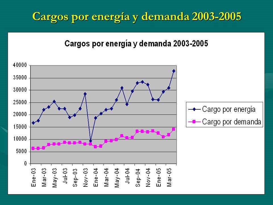 Balance preliminar de energía eléctrica del CIE, 2005