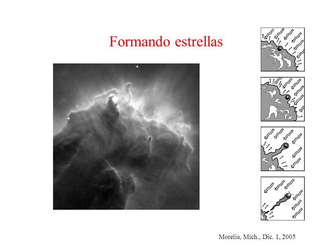 Morelia, Mich., Dic. 1, 2005 Formando estrellas