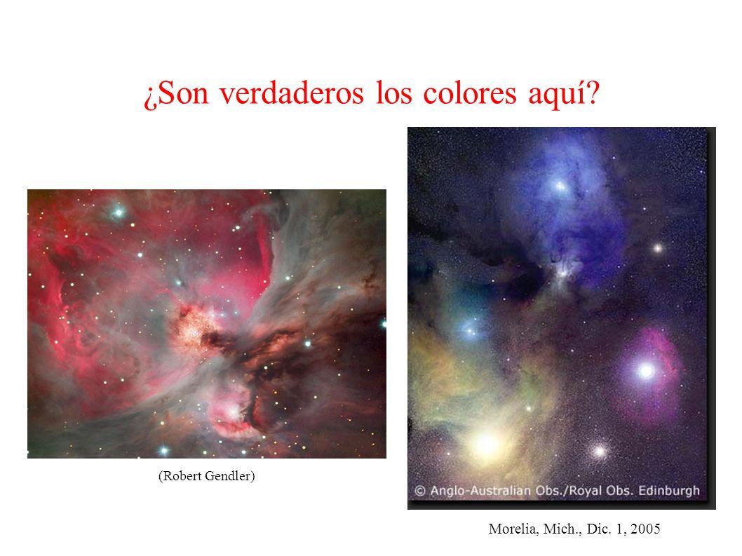 Morelia, Mich., Dic. 1, 2005 ¿Son verdaderos los colores aquí (Robert Gendler)