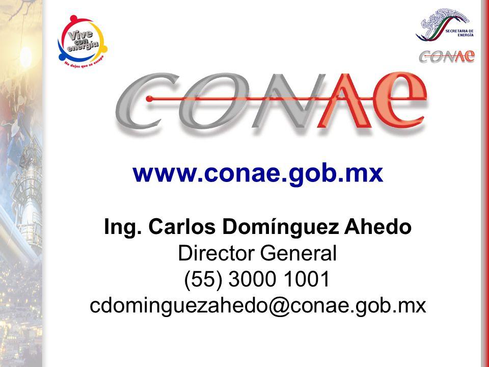 www.conae.gob.mx Ing.