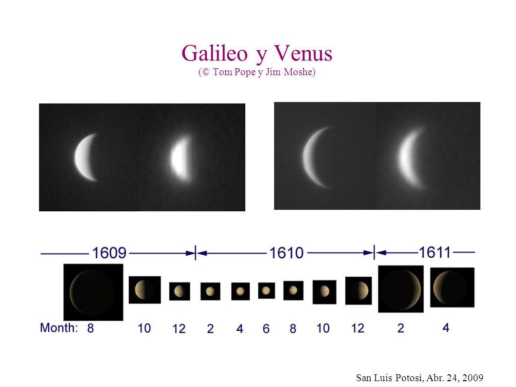 San Luis Potosí, Abr. 24, 2009 Galileo y Venus (© Tom Pope y Jim Moshe)