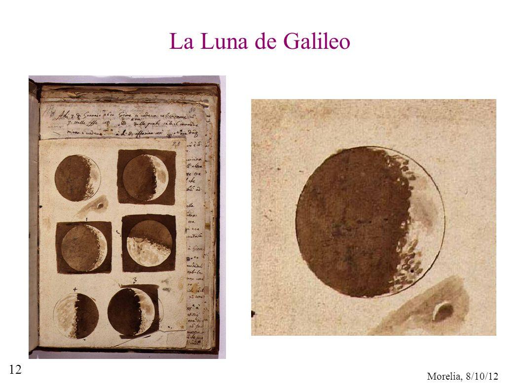 Morelia, 8/10/12 12 La Luna de Galileo