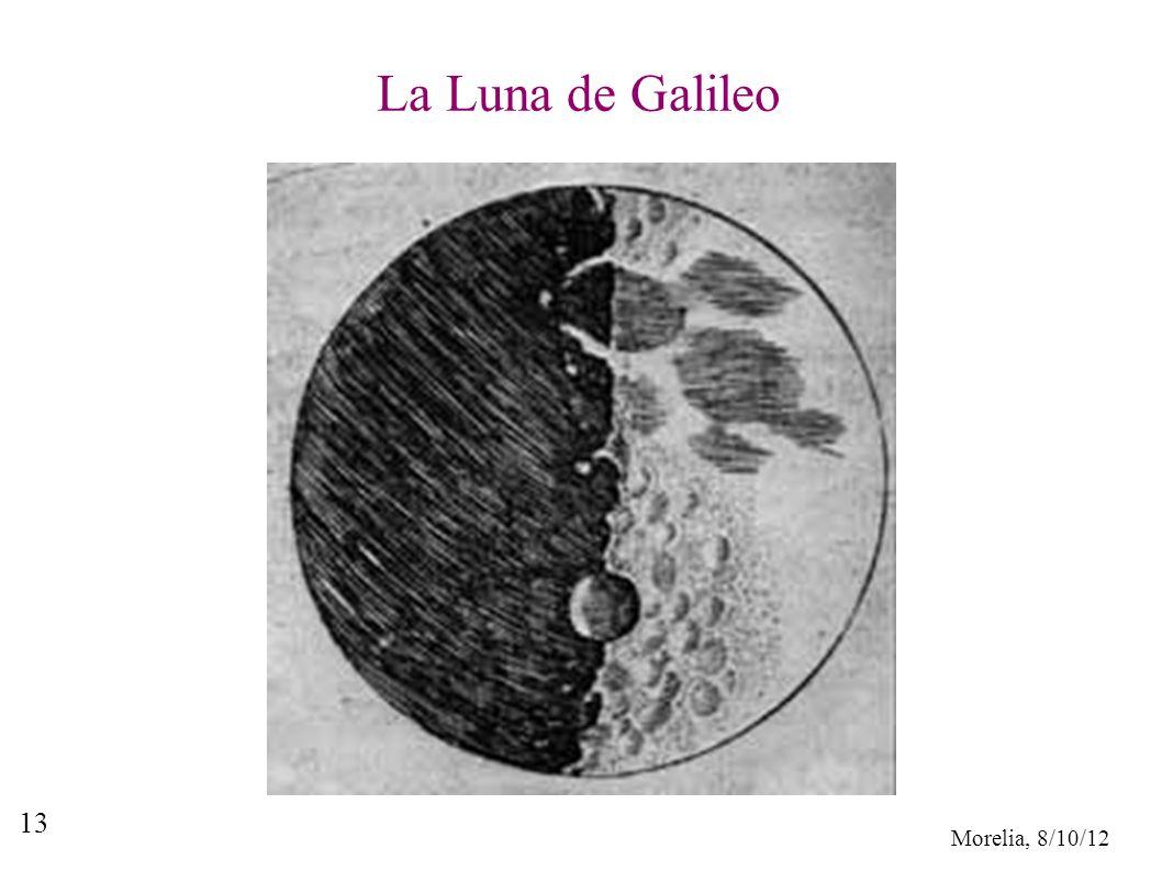 Morelia, 8/10/12 13 La Luna de Galileo