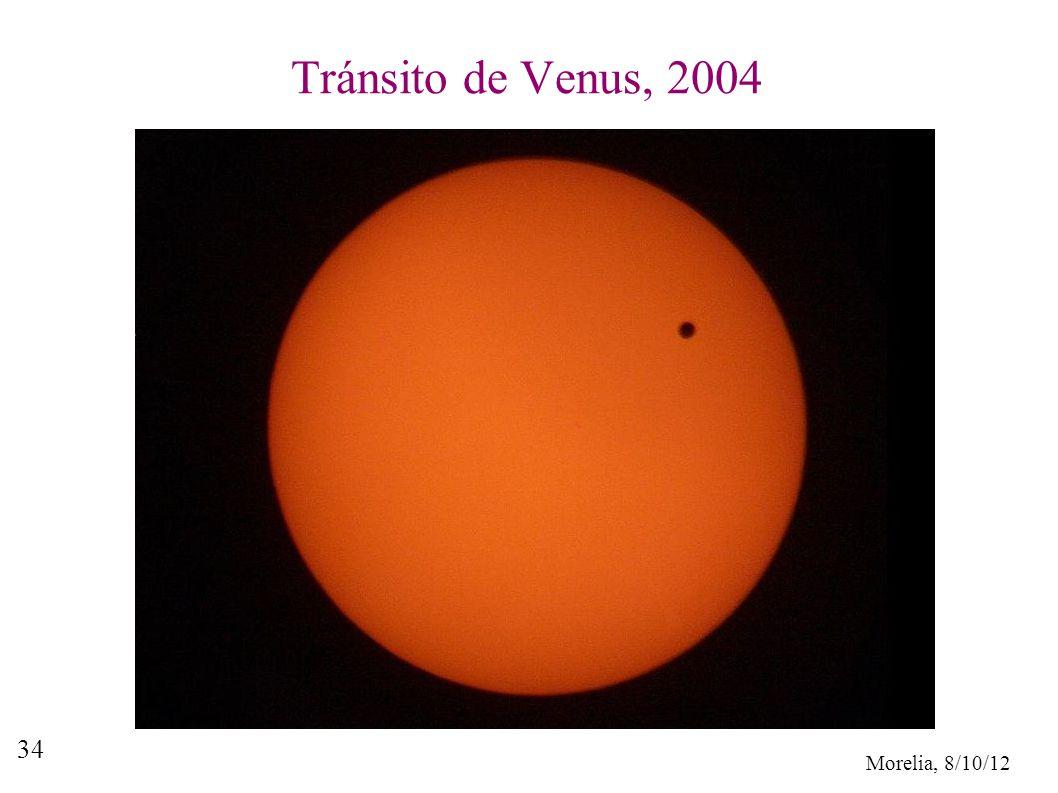 Morelia, 8/10/12 34 Tránsito de Venus, 2004