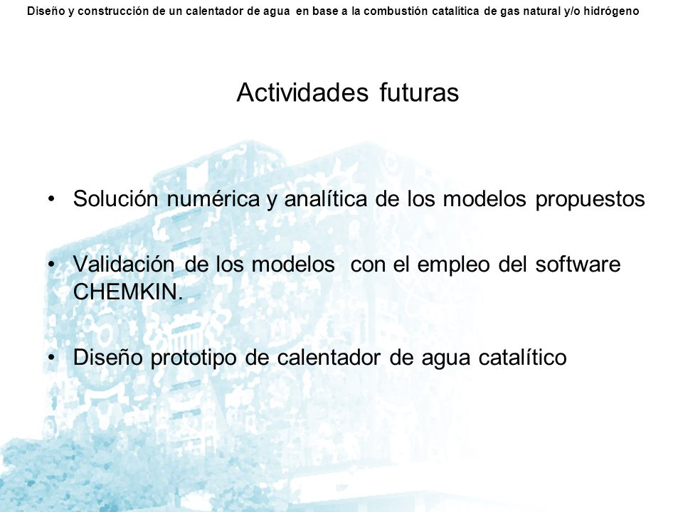 Cronograma Macroproyecto La Ciudad Universitaria y la Energía.
