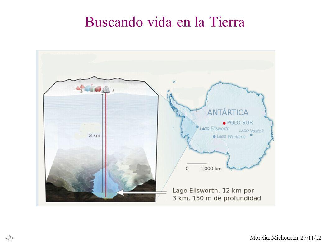 Morelia, Michoacán, 27/11/12 12 Buscando vida en la Tierra