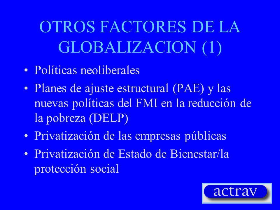 GLOBALIZACION DE SISTEMAS POLÍTICOS Nuevo sistema geopolítico Desarrollo de principios democráticos Derechos humanos y derechos fundamentales del trab