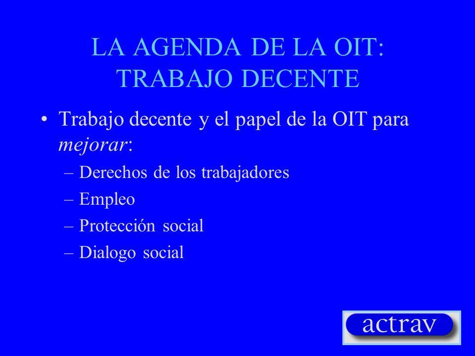 EL DESAFIO: GOBERNAR O COMBATIR LA GLOBALIZACION? (3) Coordinación de las políticas económicas, comerciales y sociales Dimensión social de la globalis