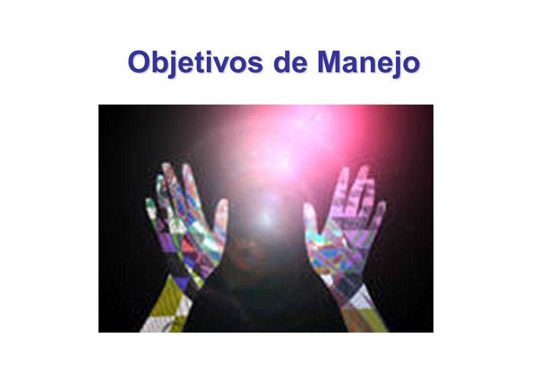 Objetivos de Manejo