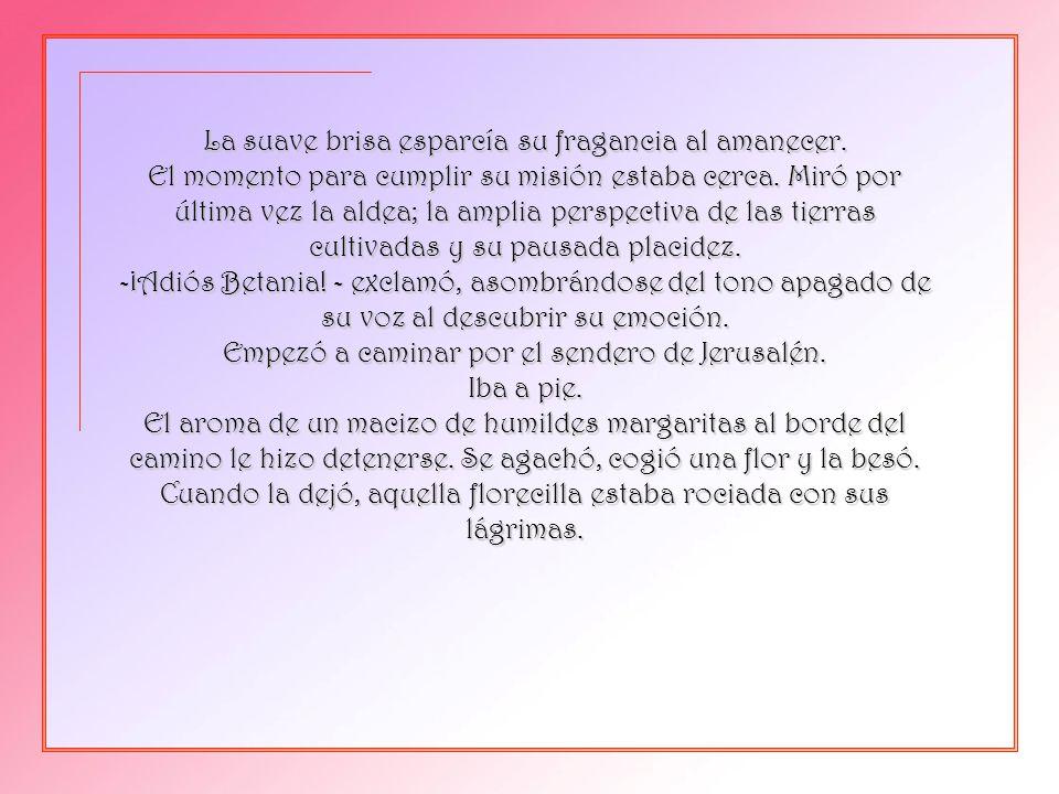 Pps de Pedro Martínez Borrego en www.vitanoblepowerpoints.net 10 de Nisán del 33. Jesús en su corto ministerio había sufrido triunfos y desengaños, pe