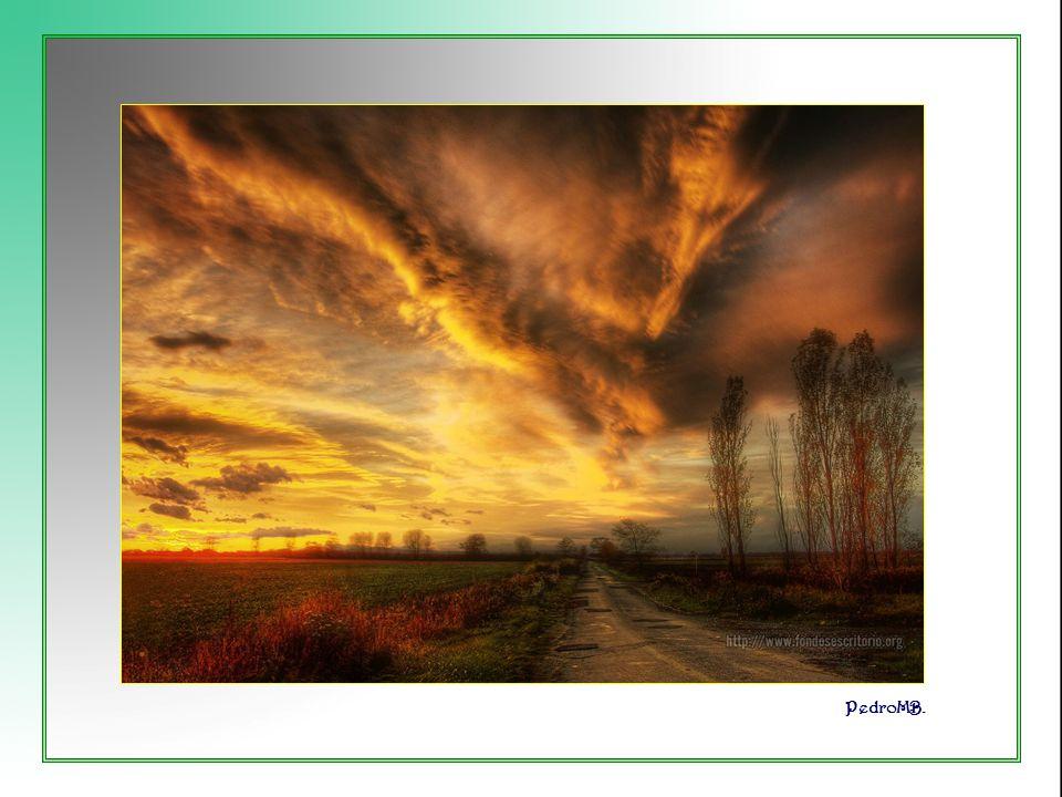 Vita Noble Powerpoints Cuando se disipan las nubes borrascosas y pienso en la clave de su existencia y de mi existencia.