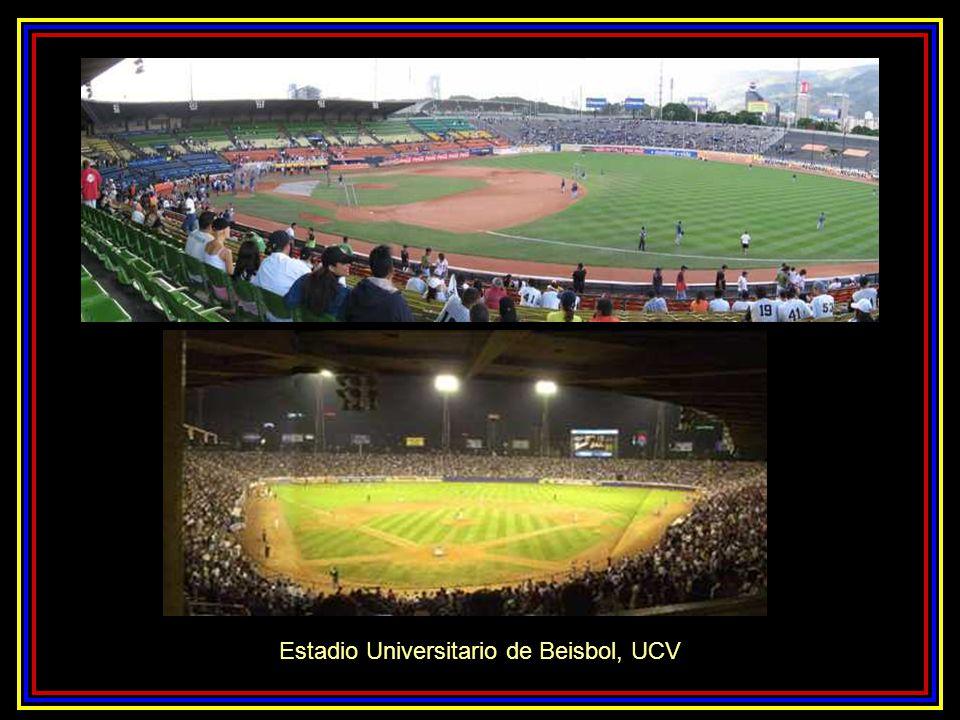 Vista del Estadio Olímpico de la UCV