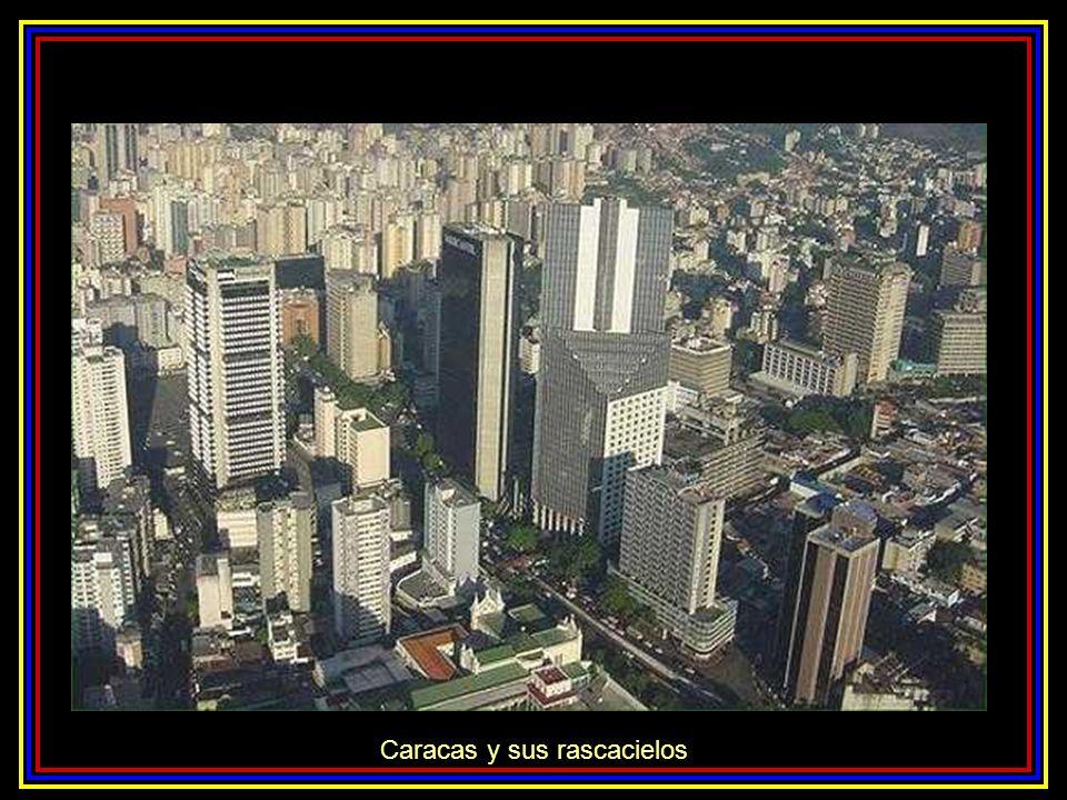 Caracas a los piés de El Avila