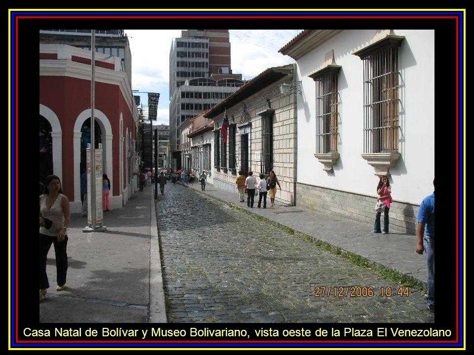 Plaza de San Jacinto o Plaza El Venezolano