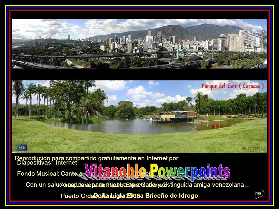 ………………………………………………………………………………………… ………………………………………………………………………………………… Canto a Caracas Para cantarte a ti puse al arpa Todas las cuerda de oro Para can