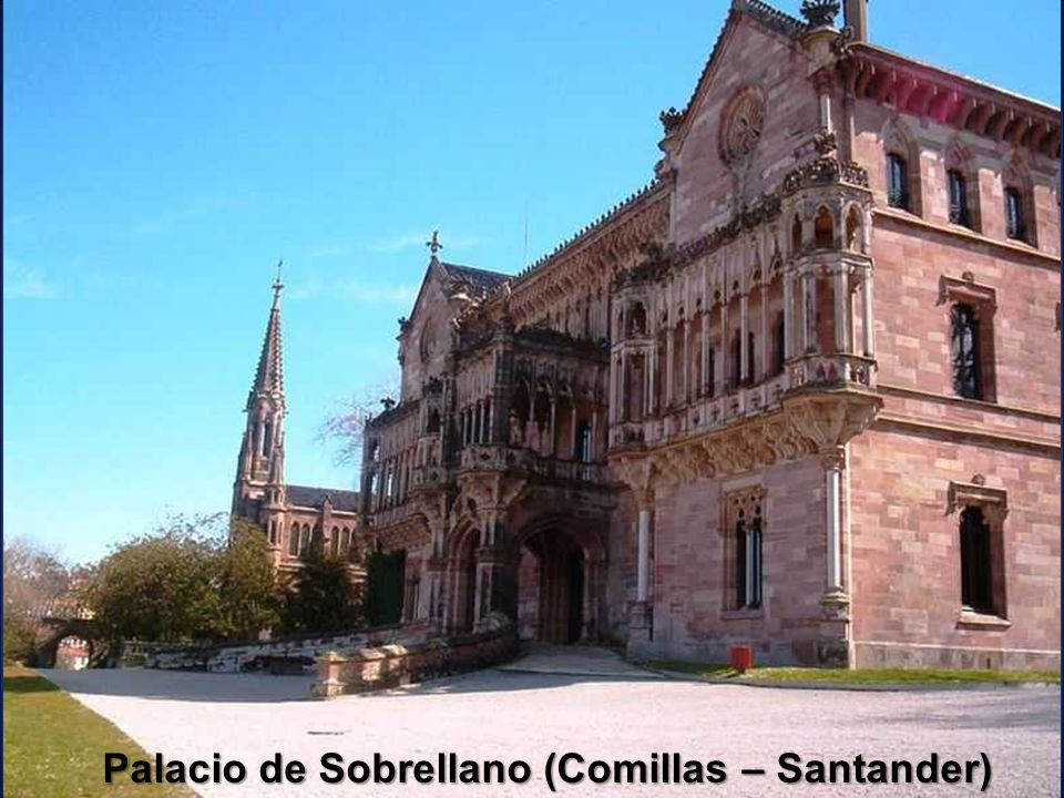 Palacio de Sobrellano (Comillas – Santander)