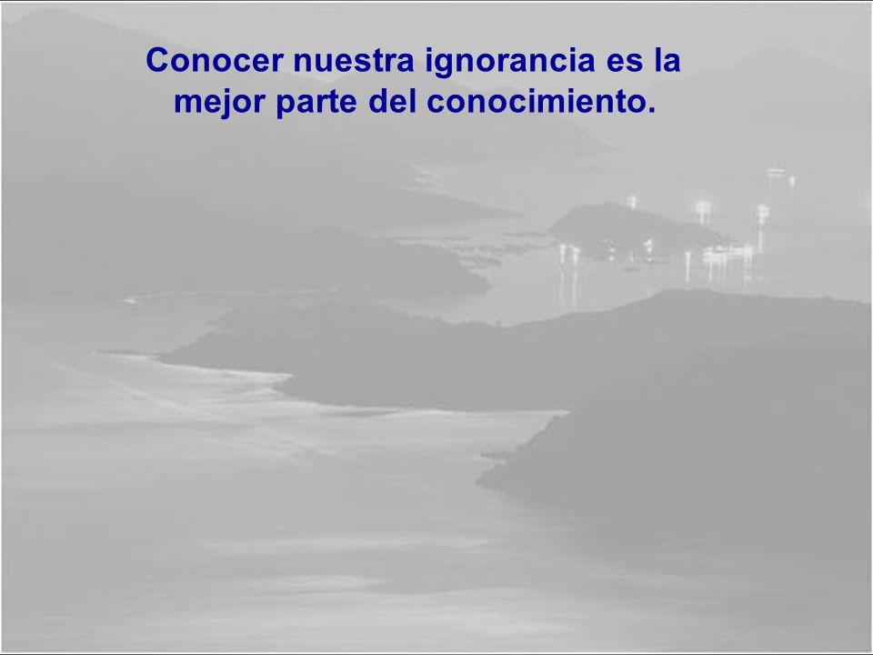 La ignorancia es la madre de todos los crímenes. Un crimen es, ante todo, una falta de raciocinio