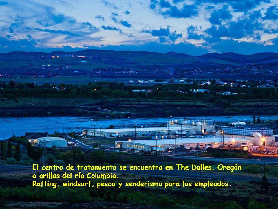 www.vitanoblepowerpoints.net El centro de tratamiento se encuentra en The Dalles, Oregón a orillas del río Columbia.