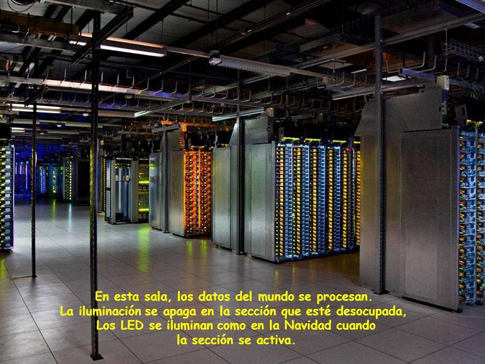 En esta sala, los datos del mundo se procesan.