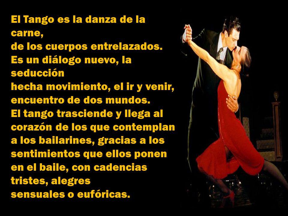 Los inmigrantes contribuían añadiendo aires de nostalgia a las canciones, y de ese modo, el tango fue adquiriendo un sabor único. El triunfo del tango