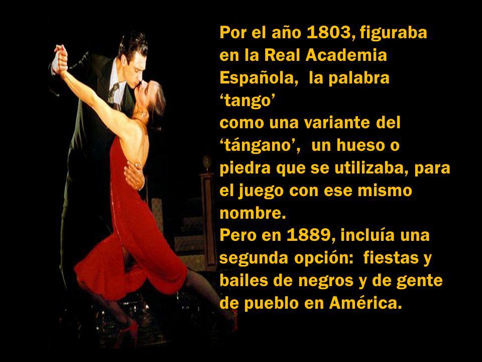 Música: Por una cabeza Canta: Carlos Gardel