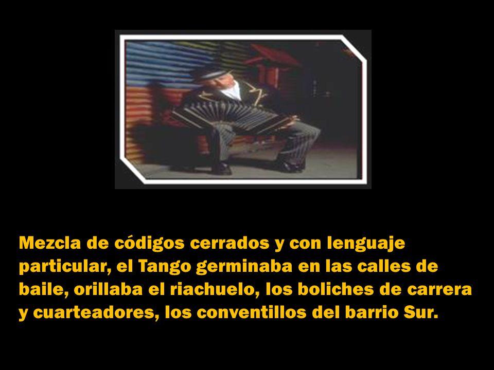 Y así nombró Buenos Aires, a las casas de los suburbios donde a comienzos del S. XIX los negros se encontraban para bailar y olvidar temporalmente su