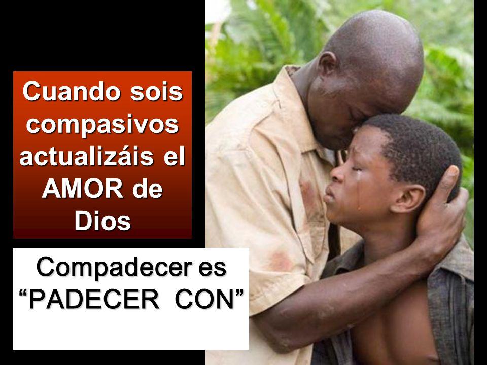 Dichosos los misericordiosos, porque ellos alcanzarán misericordia.