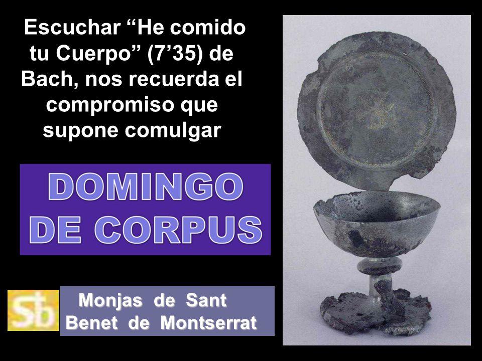 Monjas de Sant Benet de Montserrat Iniciándose la presentación… VitaNoble Powerpoints.WordPress.com. Presenta: Presentación recibida, adaptada y aloja
