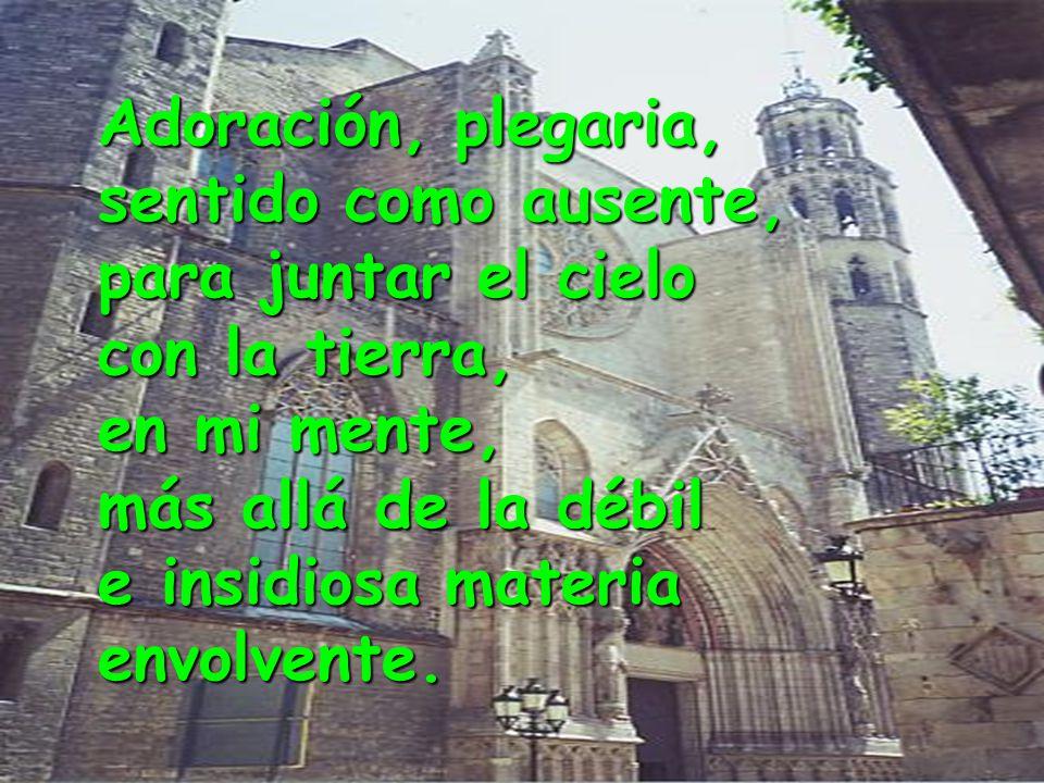 www.vitanoblepowerpoints.net Un Cristo, el icono, un altar, una flor, y una luz que se cuela ojival anunciando el amanecer. Momento intimista, oración