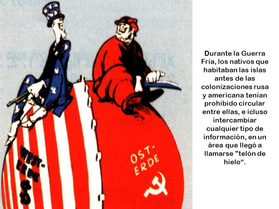 www.vitanoblepowerpoints.net Lo curioso es que la Gran Diómedes es el punto más al Este de Rusia, y la Pequeña Diómedes es el más al Oeste de los Esta