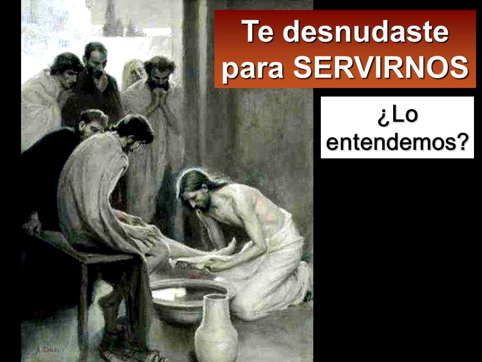 Llegó a Simón Pedro, y éste le dijo: Señor, ¿lavarme los pies tú a mí? Jesús le replicó: Lo que yo hago tú no lo entiendes ahora, pero lo comprenderás más tarde.