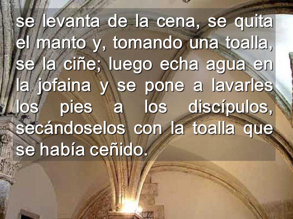 Nos muestras el Camino cristiano En cada Altar Jesús viene de Dios y a Dios vuelve