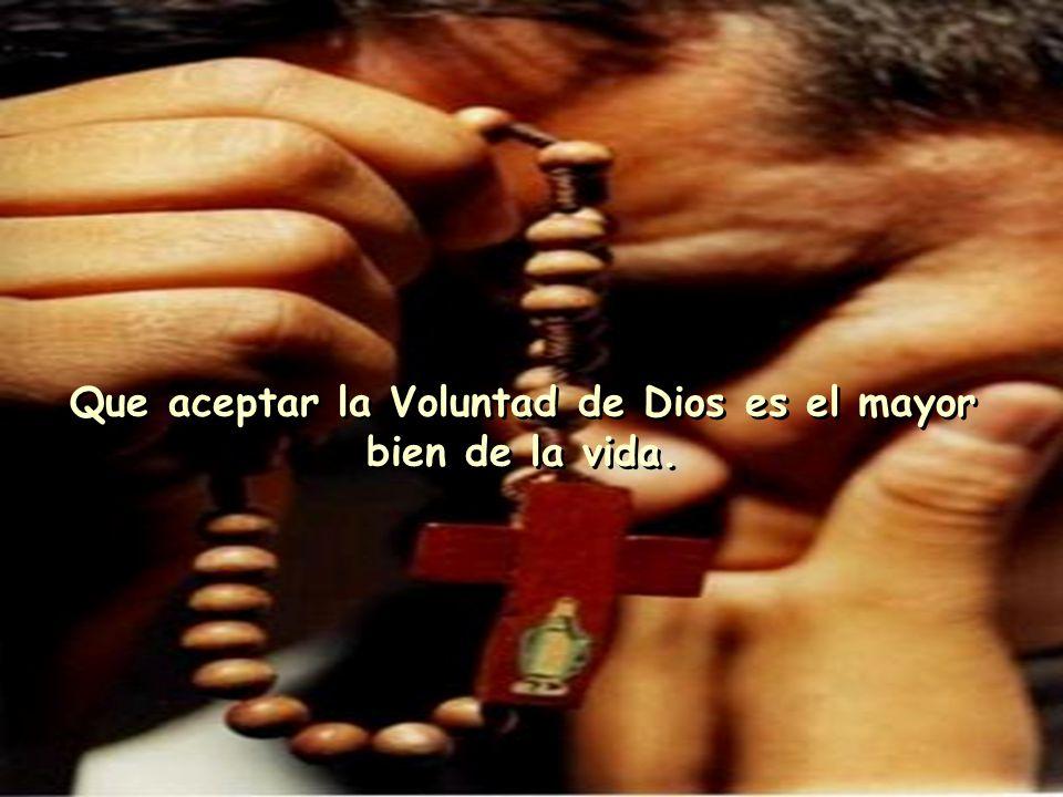 Con un rosario en la mano y con fe, Aprendí Madre querida: Con un rosario en la mano y con fe, Aprendí Madre querida: