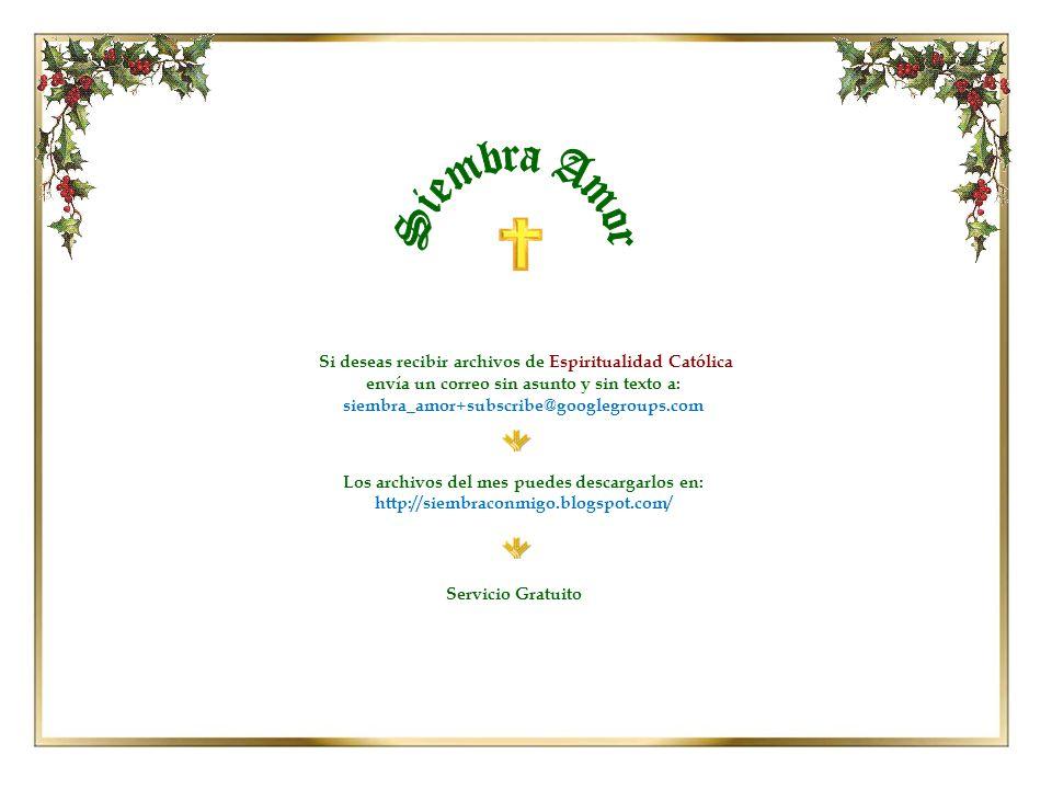 Honraré la Navidad en mi corazón y procuraré conservarla durante todo el año.