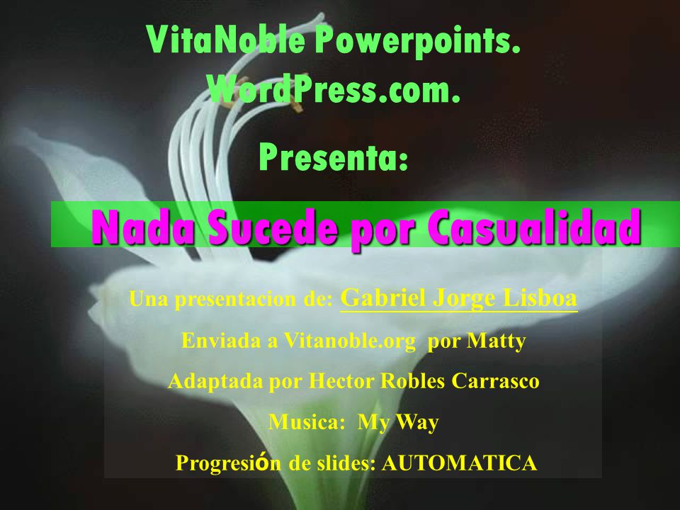 VitaNoble Powerpoints.WordPress.com.