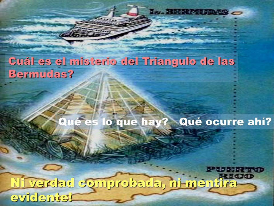 Cuál es el misterio del Triangulo de las Bermudas.