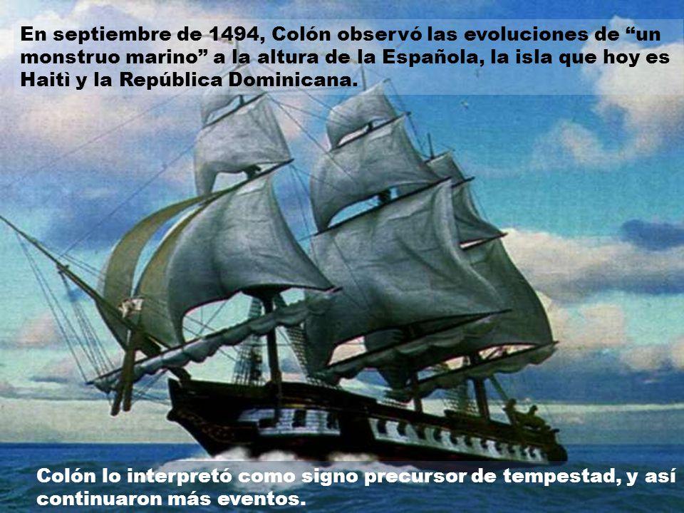 A juzgar por los diarios de navegación de los primeros capitanes españoles, comenzando por Colón, el Triángulo de las Bermudas ha sido siempre una zon