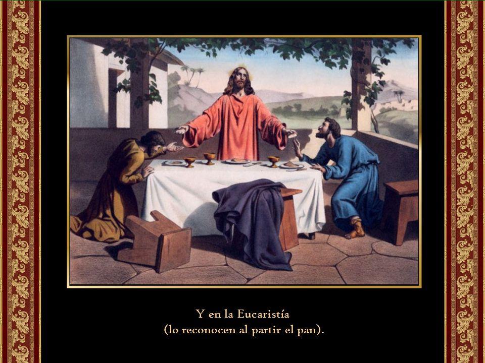 Lucas centra este encuentro en las Escrituras (que preparan el corazón)…
