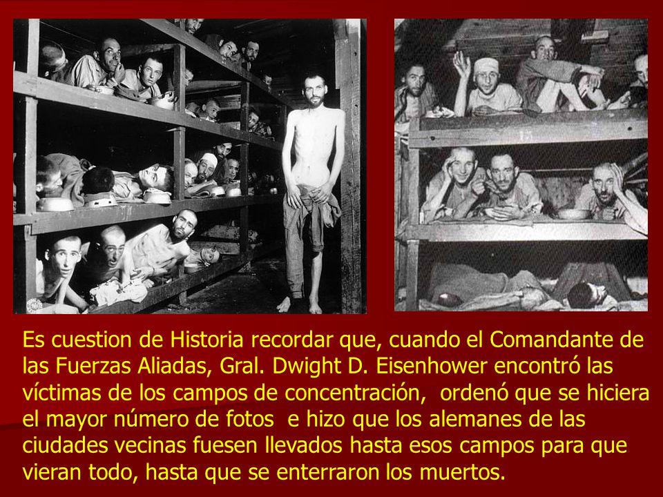 Exactamente, como fue previsto hace más de 64 años… HOLOCAUSTO